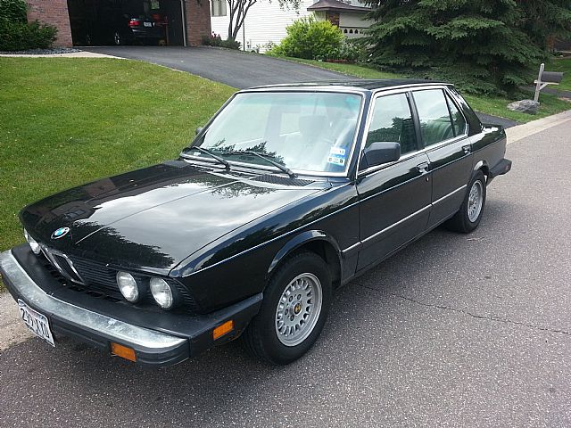 1986 Bmw 535i For Sale St Paul Minnesota
