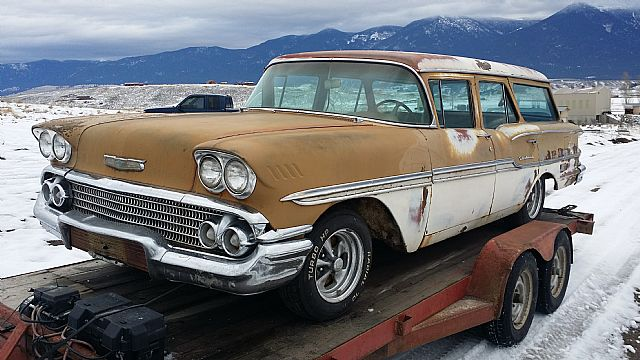 1958 Chevrolet Brookwood Wagon For Sale Eureka Montana