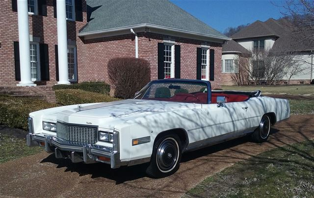 1976 Cadillac Eldorado For Sale Franklin, Tennessee