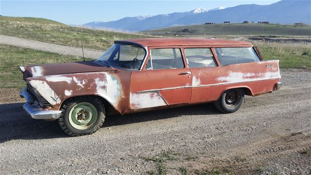 1957 plymouth suburban wagon for sale eureka montana. Black Bedroom Furniture Sets. Home Design Ideas