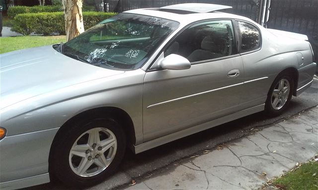 2001 chevrolet monte carlo ss for sale los angeles. Black Bedroom Furniture Sets. Home Design Ideas