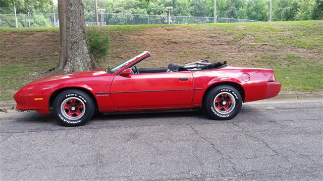 1984 chevrolet camaro for sale raleigh north carolina. Black Bedroom Furniture Sets. Home Design Ideas