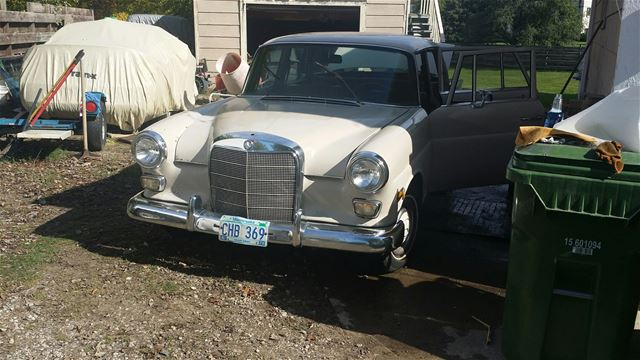 1968 Mercedes 200D for sale