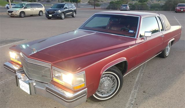 1984 Cadillac Coupe DeVille
