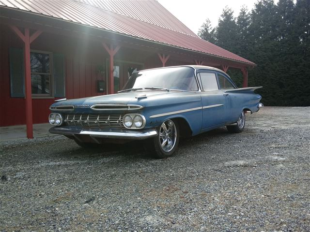 1959 chevrolet biscayne for sale hanover pennsylvania collector car ads