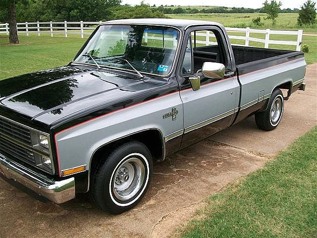 1983 silverado chevy chevrolet pickup 1500 silver trucks truck pickups ford c10 gmc 80s mitula dark toned cars stepside jacked