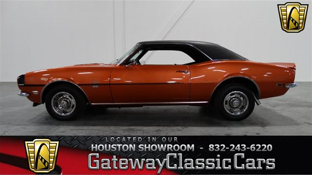 1968 Chevrolet Camaro For Sale Houston Texas