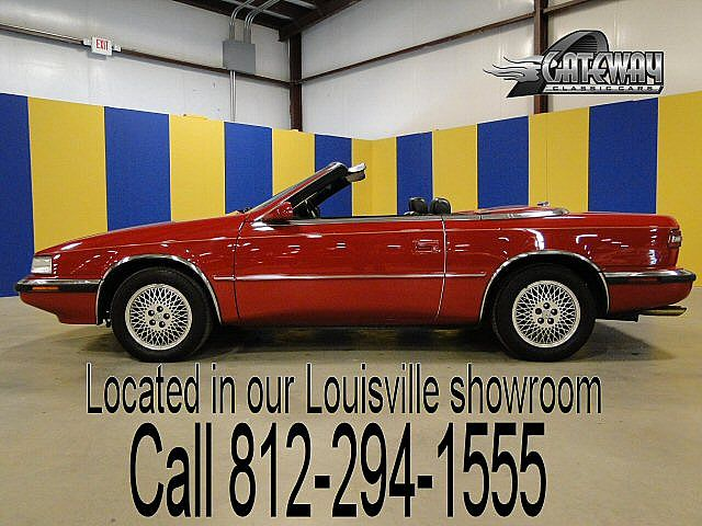 1990 Chrysler TC for sale