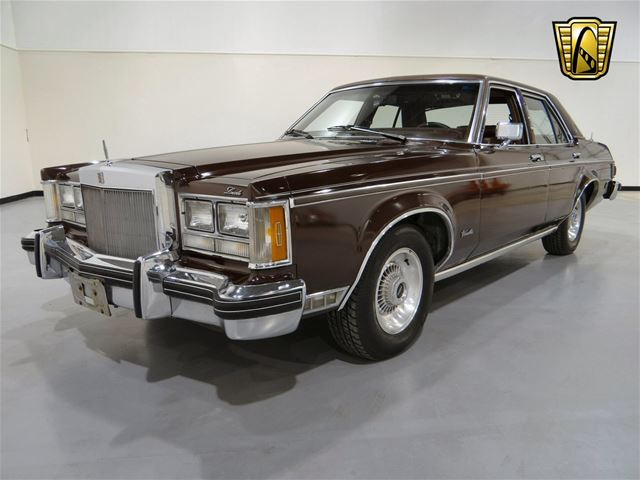 1977 Lincoln Versailles For Sale Indianapolis, Indiana