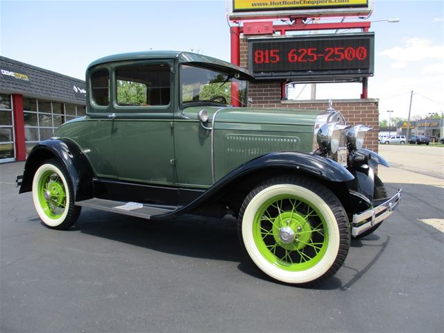 1930 ford model a 2 door coupe for sale sterling illinois for 1930 ford model a two door sedan