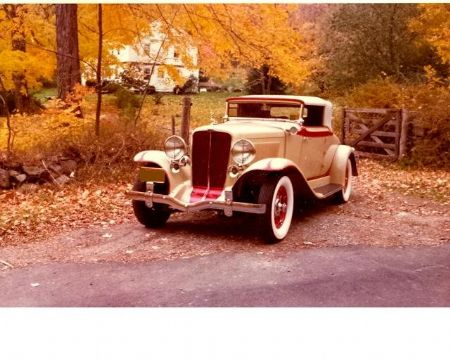 1932 Auburn Cabriolet 8-100 for sale