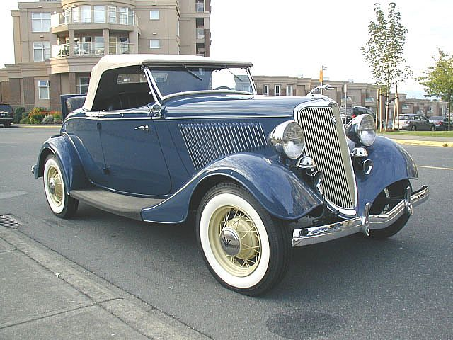 1934 Ford Timmis V8 Roadster For Sale Victoria, British Columbia