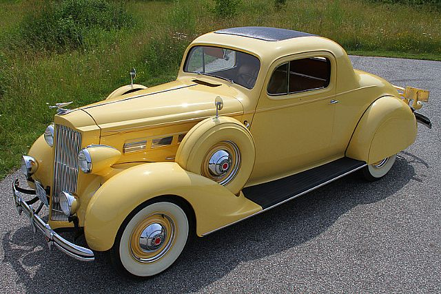 1937 packard 120 coupe for sale iowa for 1937 packard 3 window coupe