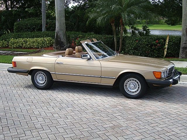 1985 Mercedes 380SL for sale
