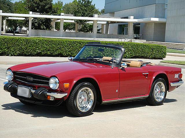 1975 Triumph TR6 for sale