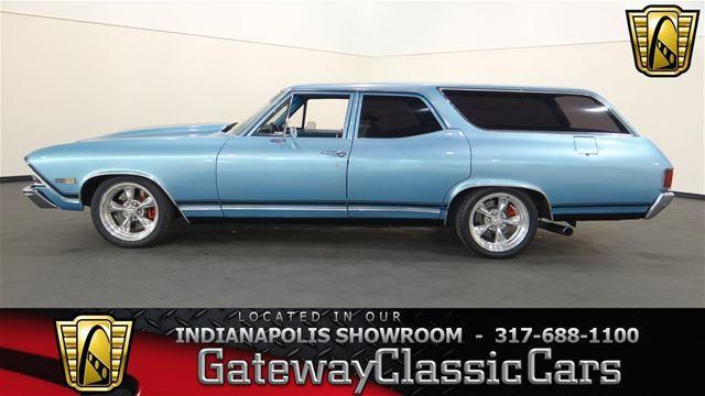 1968 chevrolet chevelle wagon for sale indianapolis indiana. Black Bedroom Furniture Sets. Home Design Ideas