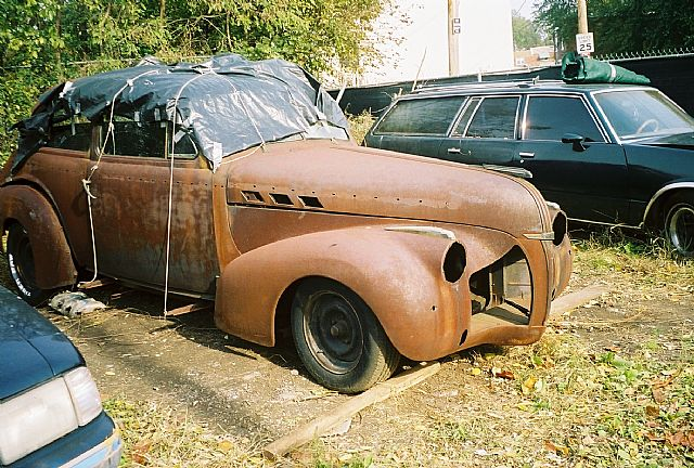 1940 Pontiac Sedan for sale