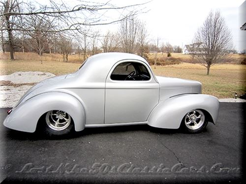 1941 Willys 3 Window