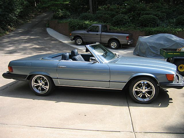 1974 Mercedes 450sl For Sale Conway Arkansas