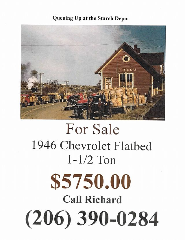 1946 Chevrolet Truck for sale