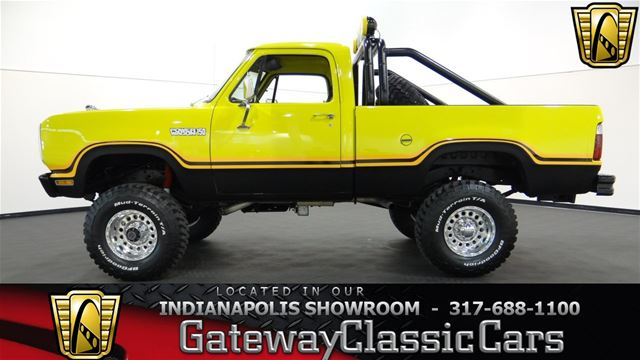 1979 dodge power wagon for sale indianapolis indiana. Black Bedroom Furniture Sets. Home Design Ideas