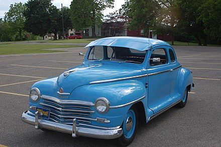 1947 Plymouth Business Coupe for sale