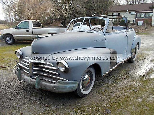 1947 Chevrolet Convertible For Sale Creston Ohio
