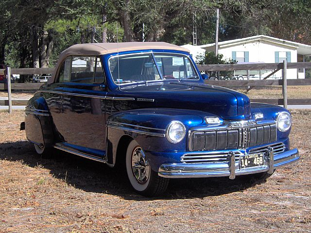 1948 Mercury Convertible for sale