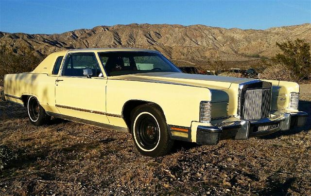 1978 Lincoln Continental Town Coupe For Sale Palm Springs