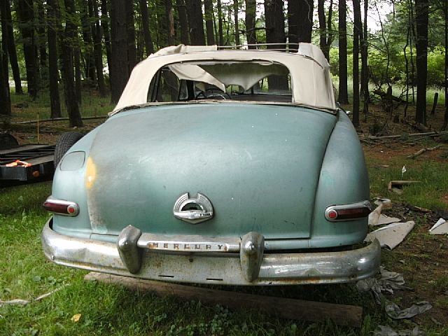 1950 Mercury Convertible Coupe For Sale Monticello New York