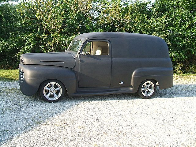 1950 ford f1 panel truck for sale new carlisle ohio. Black Bedroom Furniture Sets. Home Design Ideas