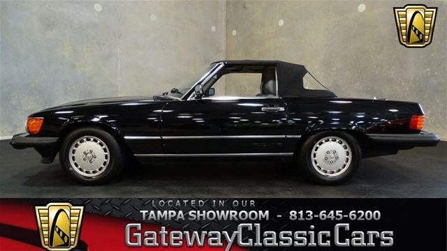 1989 Mercedes 560SL For Sale Ruskin, Florida