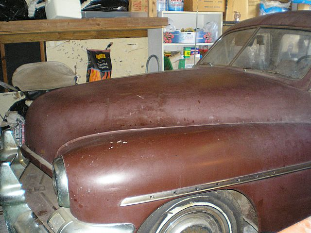 1951 Mercury 4 Door for sale