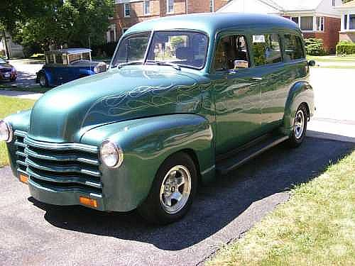 1951 Chevrolet Suburban for sale