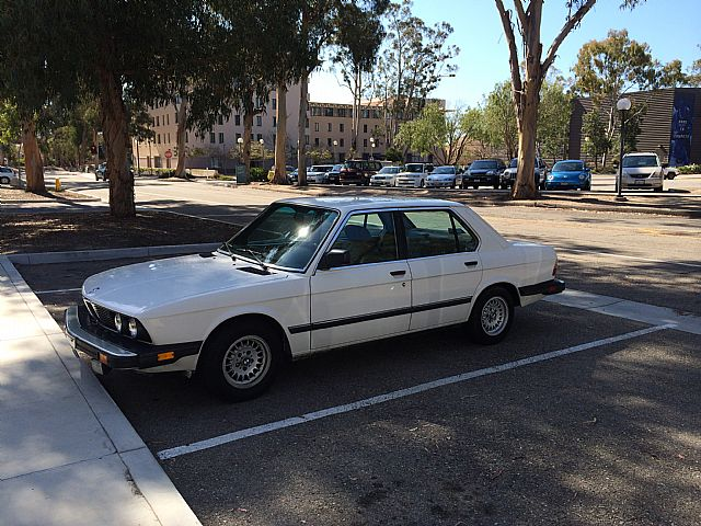 1988 bmw 528e for sale san diego california. Black Bedroom Furniture Sets. Home Design Ideas