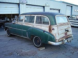 1952 Chevrolet Tin Woody for sale