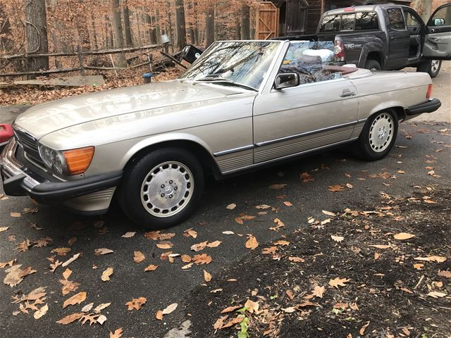 1986 Mercedes 560sl For Sale Downingtown Pennsylvania