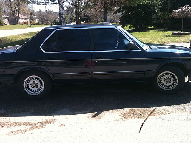 1985 BMW 528E for sale