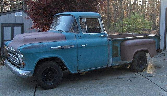 1957 chevy 3200 pickup for sale
