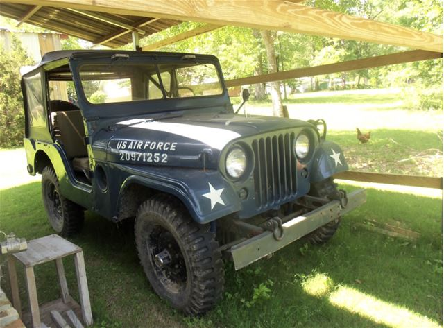 1954 Willys M38 for sale