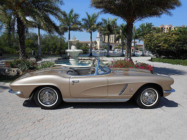 1962 chevrolet corvette for sale cape coral florida. Cars Review. Best American Auto & Cars Review
