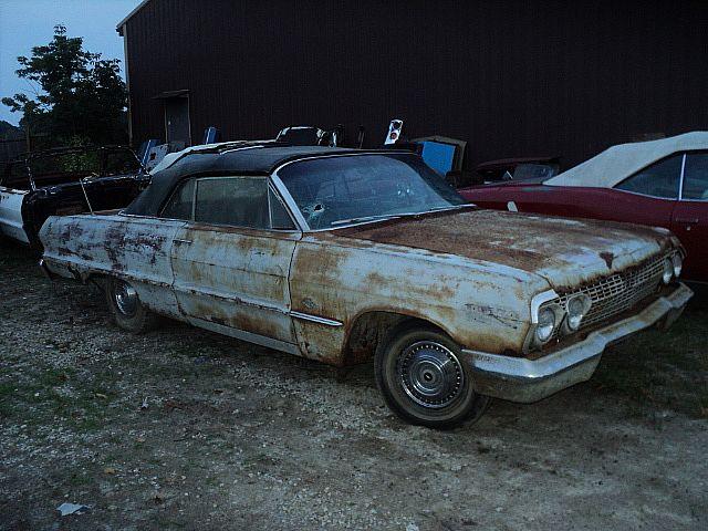 1963 chevrolet impala ss convertible for sale creston ohio. Black Bedroom Furniture Sets. Home Design Ideas