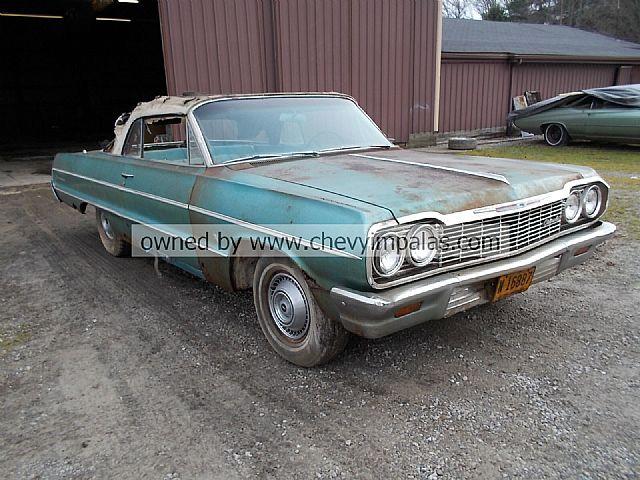 1964 chevrolet impala convertible for sale creston ohio. Black Bedroom Furniture Sets. Home Design Ideas