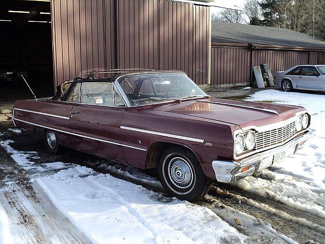 1964 Chevrolet Impala Convertible For Sale Creston Ohio