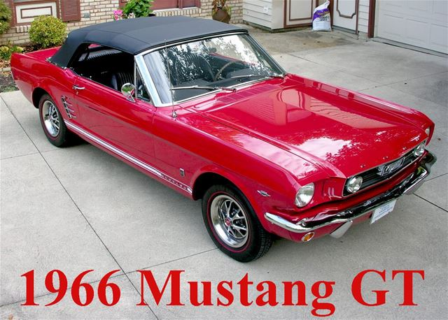 1966 ford mustang gt for sale olmsted twp ohio. Black Bedroom Furniture Sets. Home Design Ideas