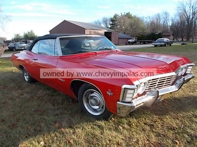 1967 chevrolet impala ss convertible for sale creston ohio. Black Bedroom Furniture Sets. Home Design Ideas