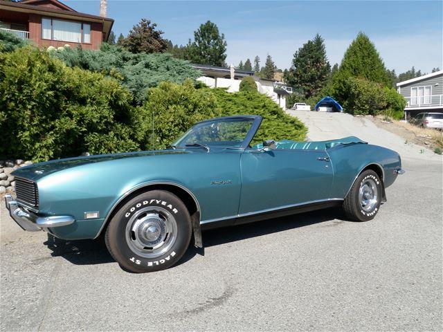 1968 Chevrolet Camaro For Sale Peachland British Columbia