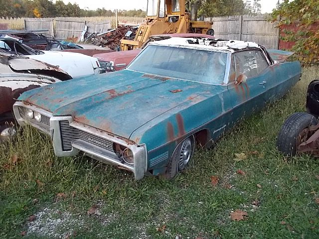 1968 Pontiac Bonneville for sale