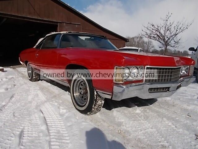 1971 Chevrolet Impala Convertible For Sale Creston Ohio
