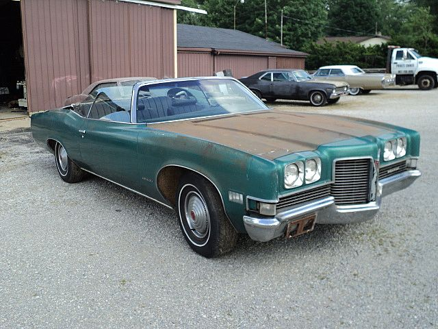 1971 Pontiac Catalina Convertible For Sale Creston Ohio